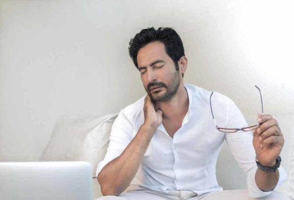 cure neck pain