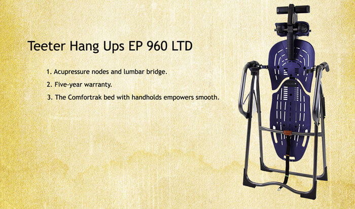 Teeter Hang Ups EP 960 review