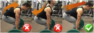 Keep Your Back Straight Deadlift