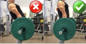 Overextension at the Top Deadlift