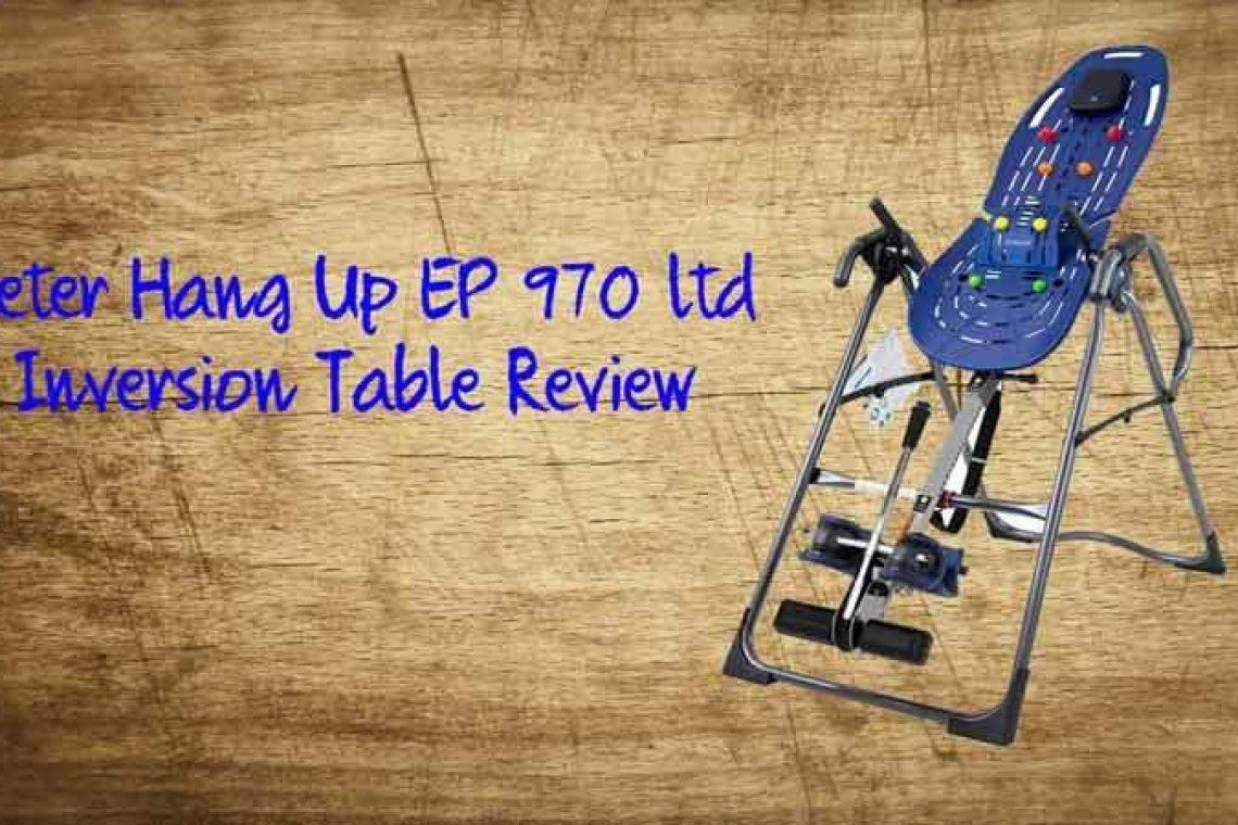 Teeter 970 inversion table