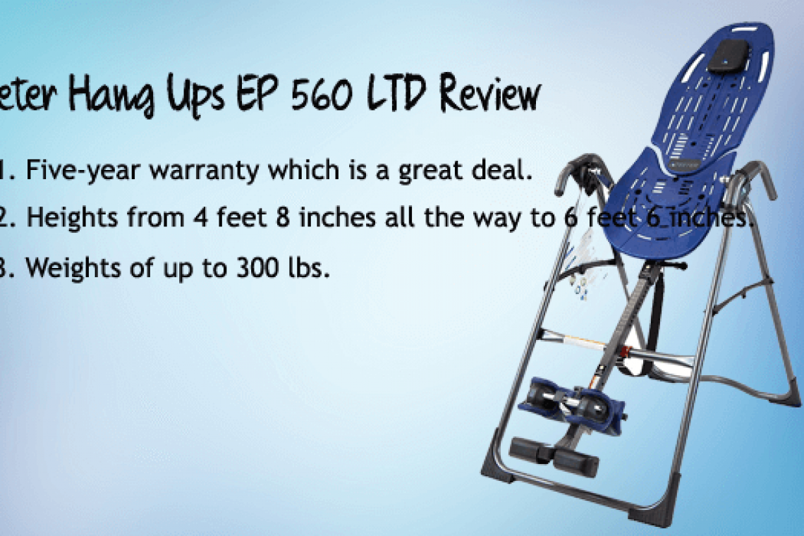 Teeter Hang Ups EP 560