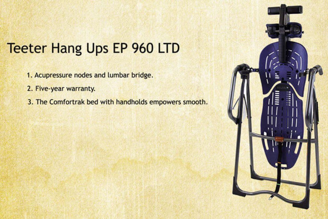 Teeter Hang Ups EP 960 review