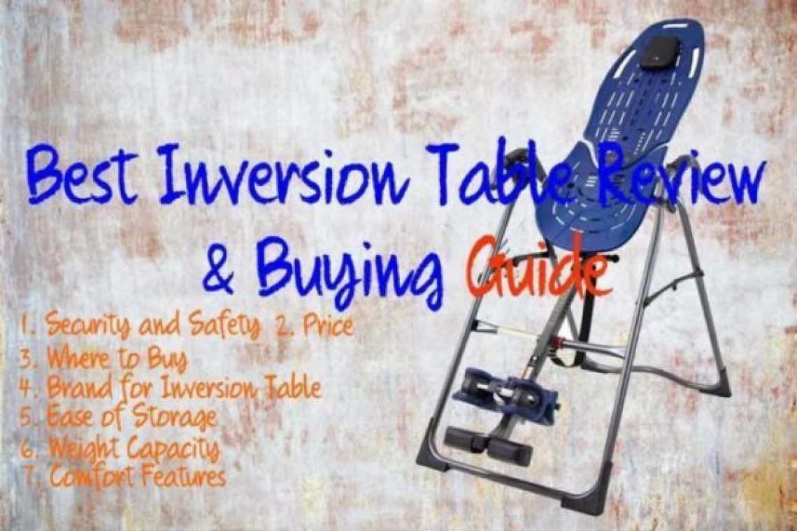 best inversion table 2021